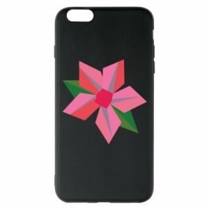 Etui na iPhone 6 Plus/6S Plus Pink flower abstraction