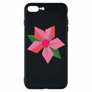 Etui na iPhone 7 Plus Pink flower abstraction