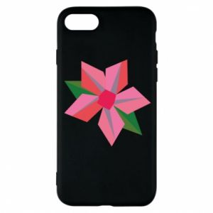 Etui na iPhone 8 Pink flower abstraction