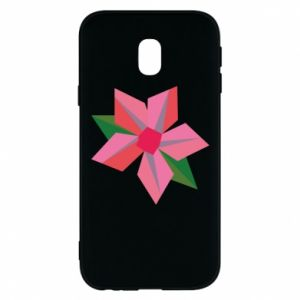 Etui na Samsung J3 2017 Pink flower abstraction