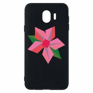 Etui na Samsung J4 Pink flower abstraction