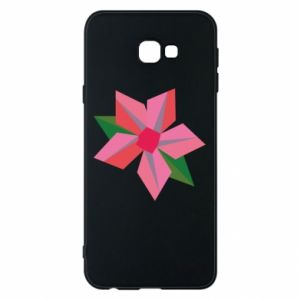Etui na Samsung J4 Plus 2018 Pink flower abstraction
