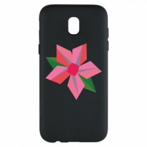 Etui na Samsung J5 2017 Pink flower abstraction