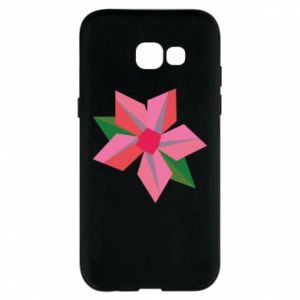 Etui na Samsung A5 2017 Pink flower abstraction