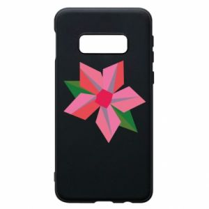 Etui na Samsung S10e Pink flower abstraction