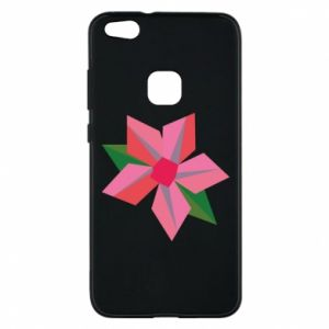 Etui na Huawei P10 Lite Pink flower abstraction