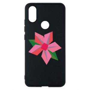 Etui na Xiaomi Mi A2 Pink flower abstraction