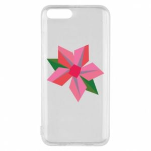 Etui na Xiaomi Mi6 Pink flower abstraction