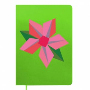 Notes Pink flower abstraction