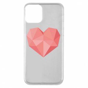Etui na iPhone 11 Pink heart graphics