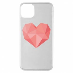 Etui na iPhone 11 Pro Max Pink heart graphics