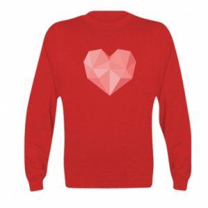 Bluza dziecięca Pink heart graphics