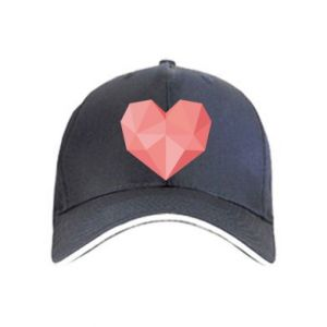 Czapka Pink heart graphics