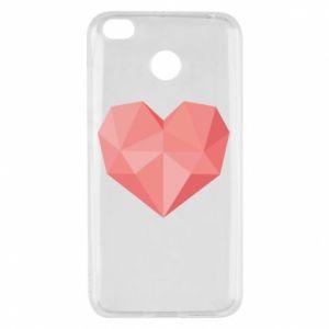 Etui na Xiaomi Redmi 4X Pink heart graphics