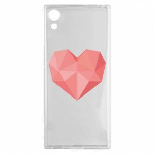 Etui na Sony Xperia XA1 Pink heart graphics