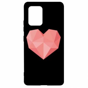 Etui na Samsung S10 Lite Pink heart graphics