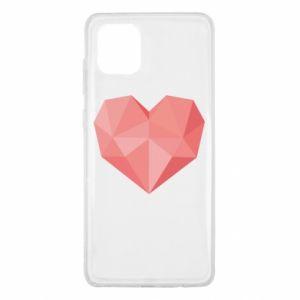 Etui na Samsung Note 10 Lite Pink heart graphics
