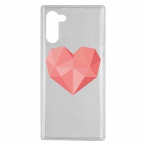 Etui na Samsung Note 10 Pink heart graphics