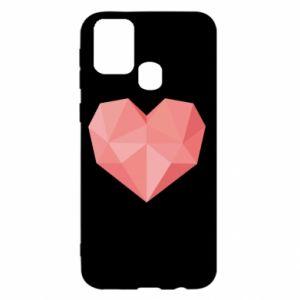 Etui na Samsung M31 Pink heart graphics