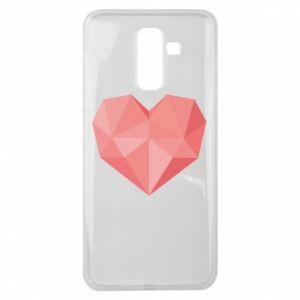 Etui na Samsung J8 2018 Pink heart graphics