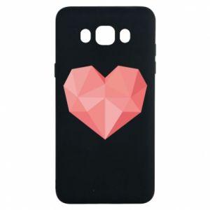 Etui na Samsung J7 2016 Pink heart graphics