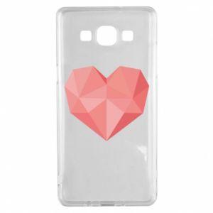 Etui na Samsung A5 2015 Pink heart graphics