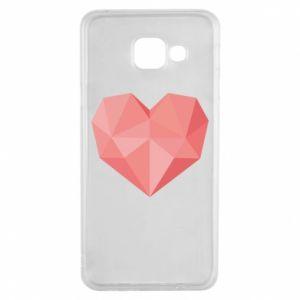 Etui na Samsung A3 2016 Pink heart graphics