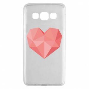 Etui na Samsung A3 2015 Pink heart graphics