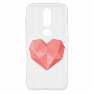 Etui na Nokia 4.2 Pink heart graphics