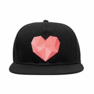Snapback Pink heart graphics