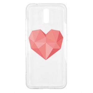 Etui na Nokia 2.3 Pink heart graphics