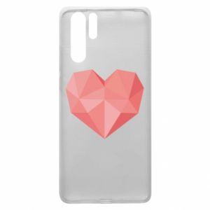 Etui na Huawei P30 Pro Pink heart graphics