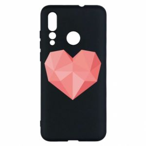Etui na Huawei Nova 4 Pink heart graphics