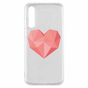Etui na Huawei P20 Pro Pink heart graphics