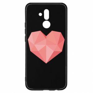 Etui na Huawei Mate 20 Lite Pink heart graphics