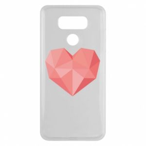 Etui na LG G6 Pink heart graphics