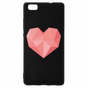 Etui na Huawei P 8 Lite Pink heart graphics