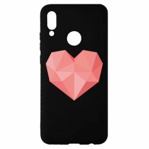 Etui na Huawei P Smart 2019 Pink heart graphics