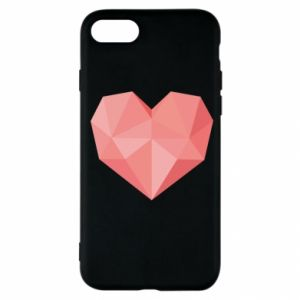 Etui na iPhone SE 2020 Pink heart graphics