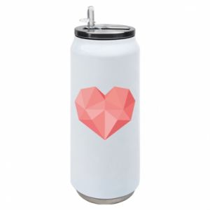 Puszka termiczna Pink heart graphics