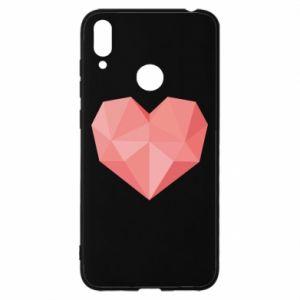 Etui na Huawei Y7 2019 Pink heart graphics