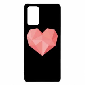 Etui na Samsung Note 20 Pink heart graphics