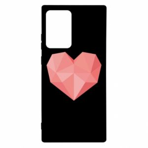 Etui na Samsung Note 20 Ultra Pink heart graphics