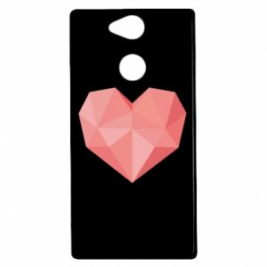Etui na Sony Xperia XA2 Pink heart graphics