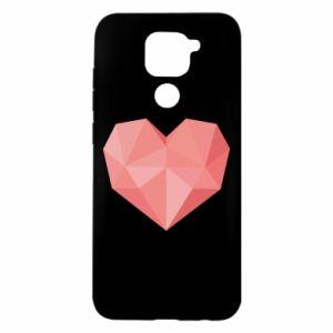 Etui na Xiaomi Redmi Note 9/Redmi 10X Pink heart graphics