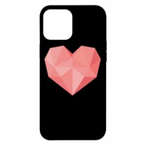 Etui na iPhone 12 Pro Max Pink heart graphics