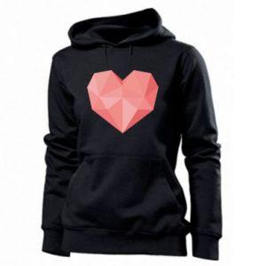 Bluza damska Pink heart graphics
