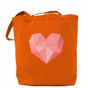 Torba Pink heart graphics