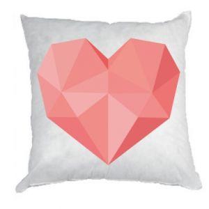 Poduszka Pink heart graphics