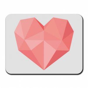 Podkładka pod mysz Pink heart graphics